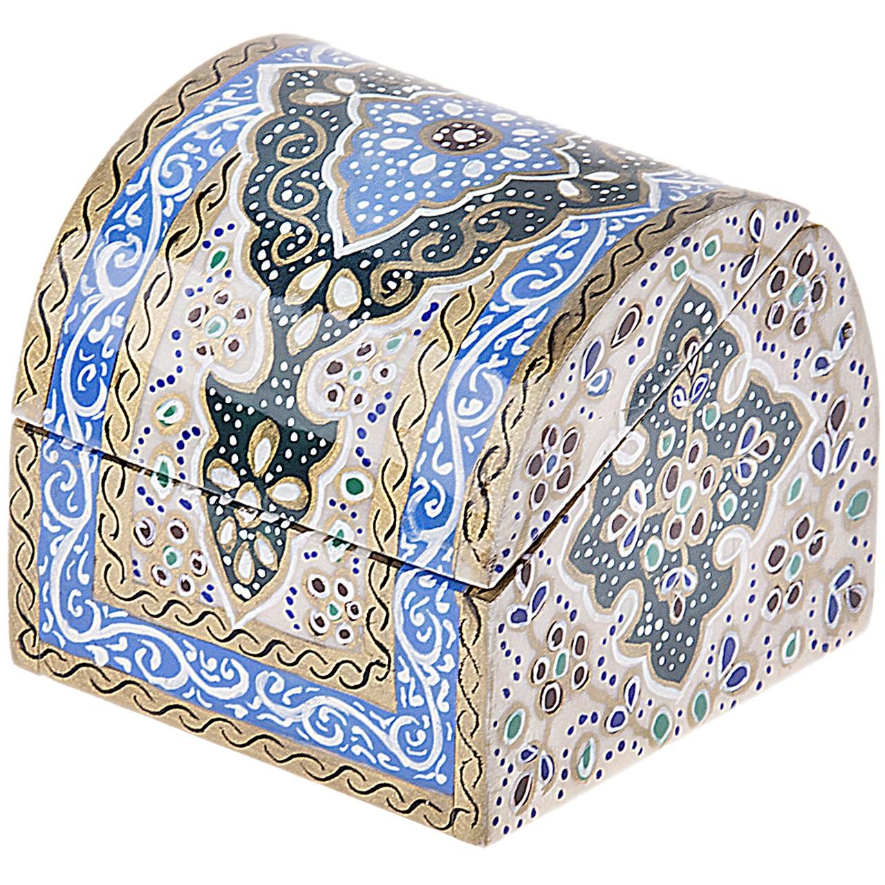 جعبه استخوانی اثر بهشتی طرح تذهیب 2 سایز کوچک