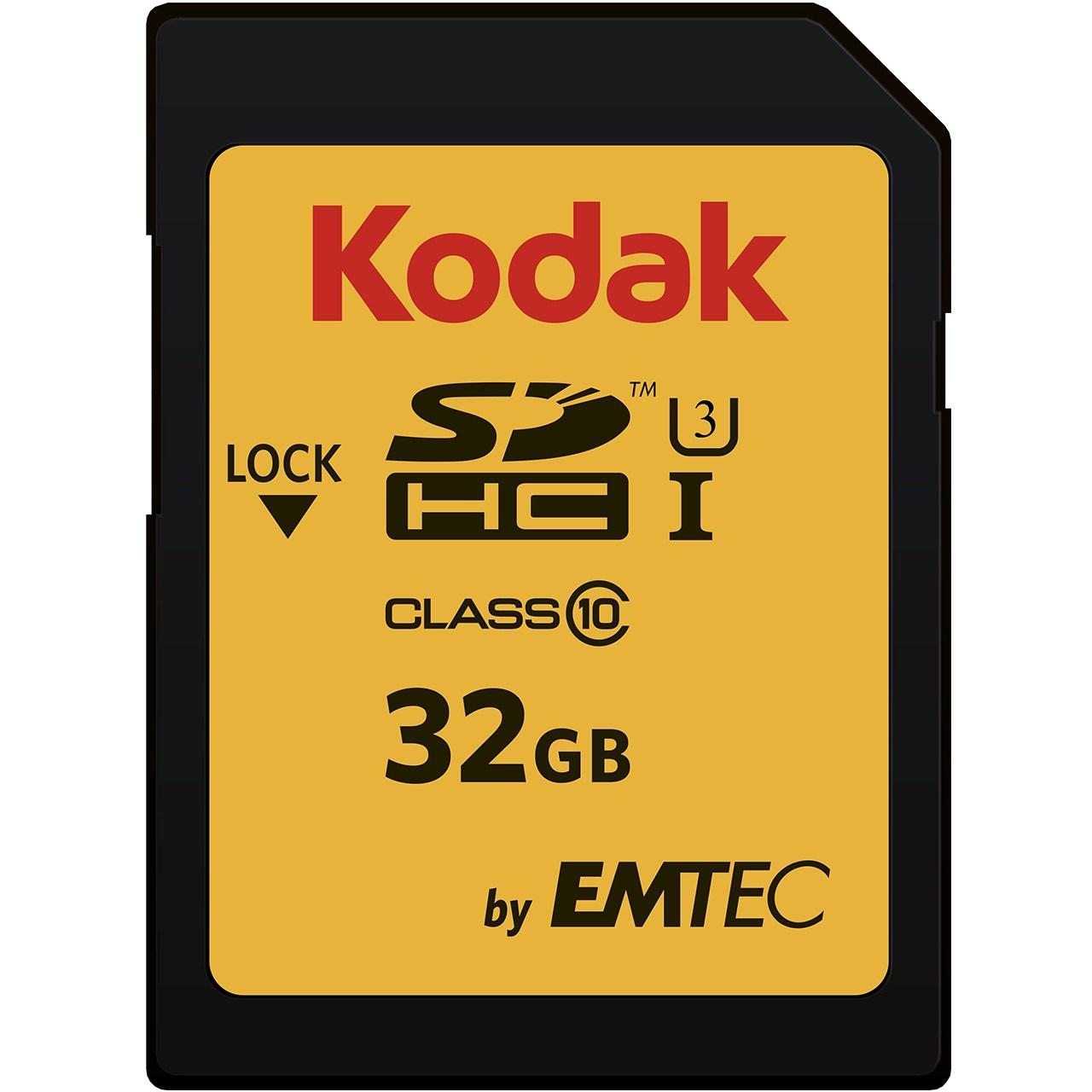 کارت حافظه SDHC امتک کداک کلاس 10 استاندارد UHS-I U3 سرعت 95MBps 650X ظرفیت 32 گیگابایت