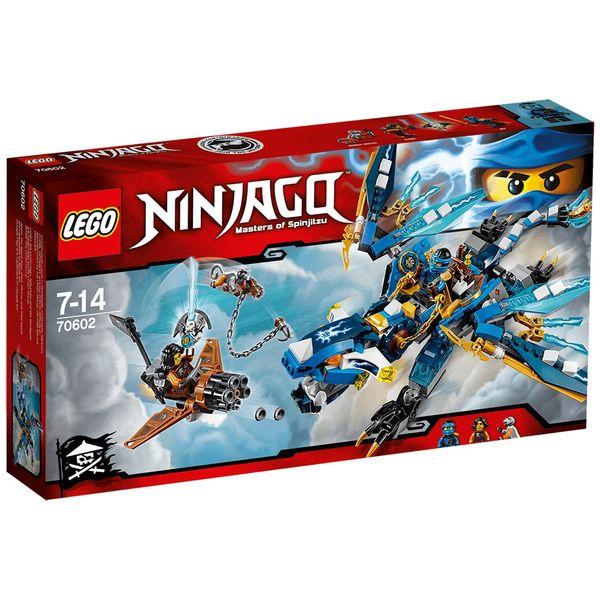 لگو سری Ninjago مدل Jays Elemental Dragon 70602