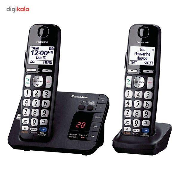 تلفن بیسیم پاناسونیک مدل KX-TGE232B main 1 1