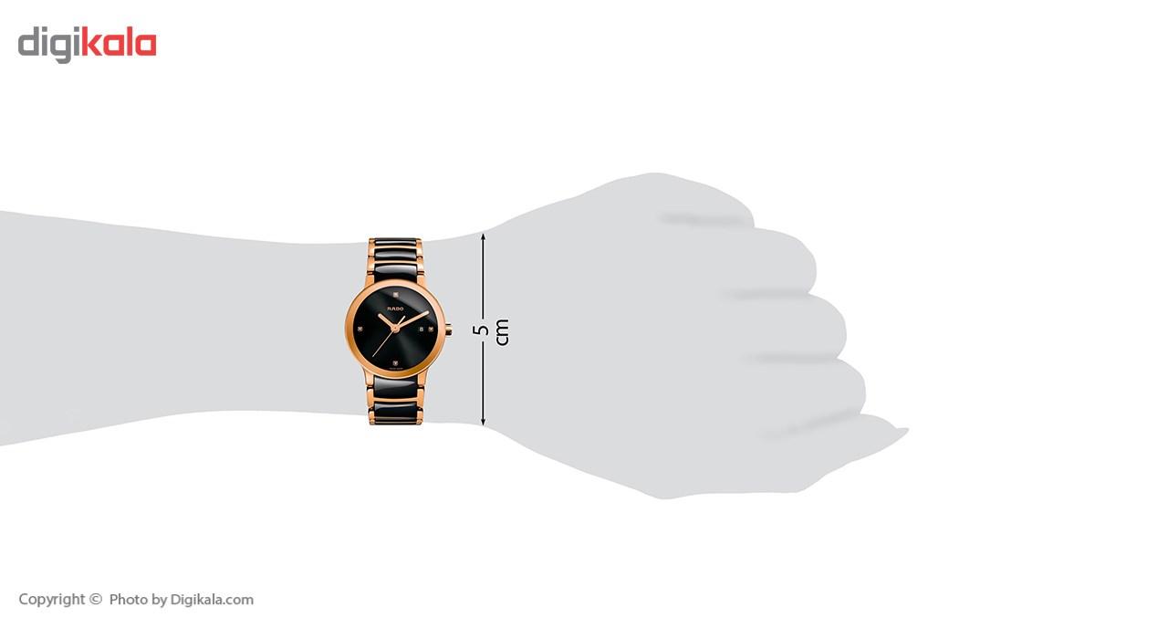 خرید                                      ساعت مچی عقربه ای زنانه رادو مدل 111.0555.3.071
