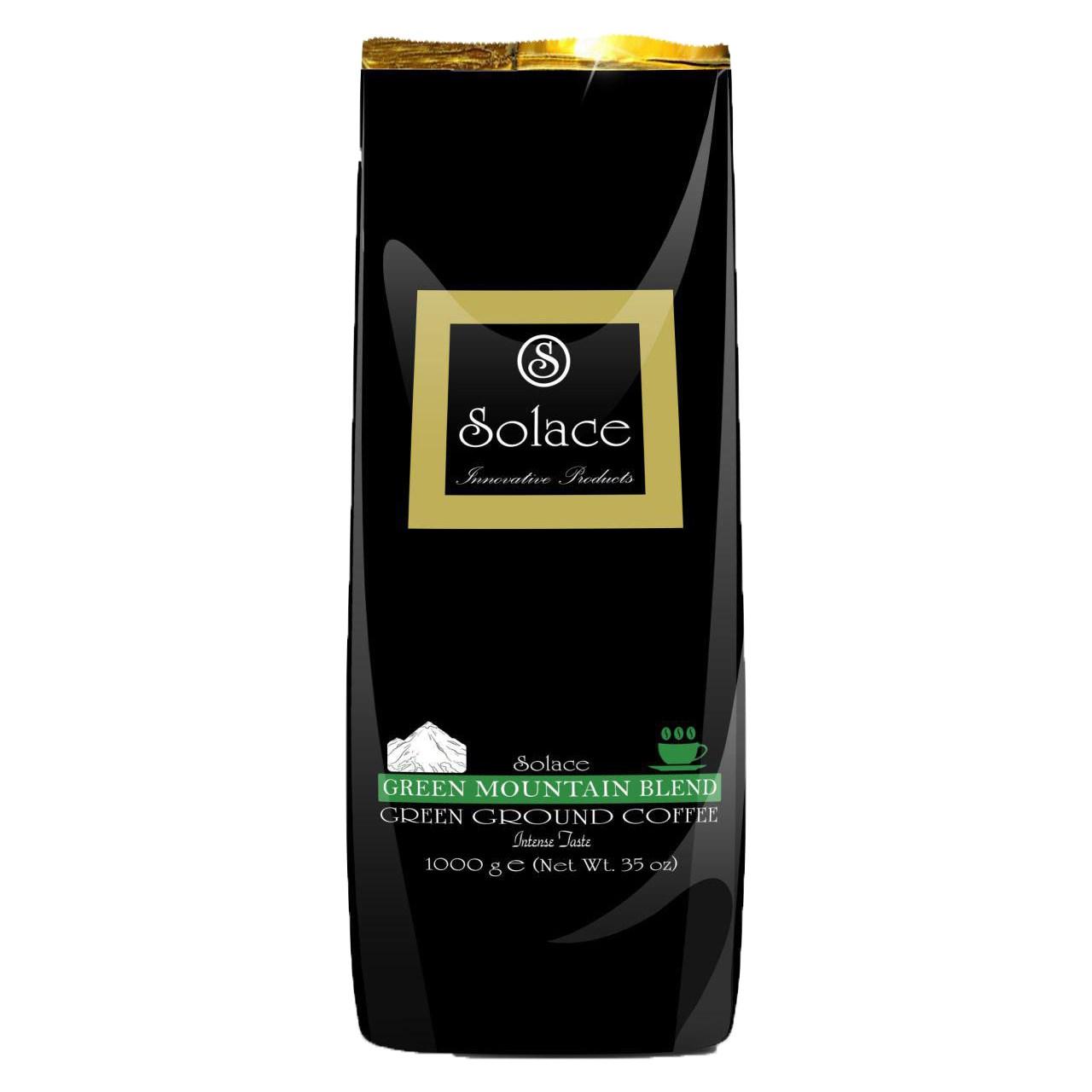 قهوه سبز سولیس مدل GREEN MOUNTAIN GROUND COFFEE بسته 1000 گرمی