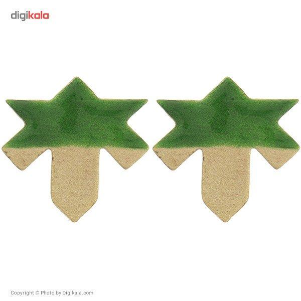 گوشواره فی بی طرح برگ چنار -  - 3