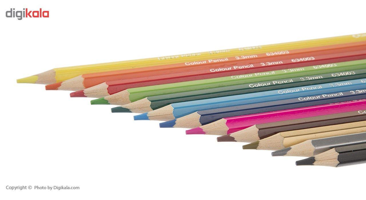 مداد رنگی 12 رنگ کوییلو کد 634003 main 1 2