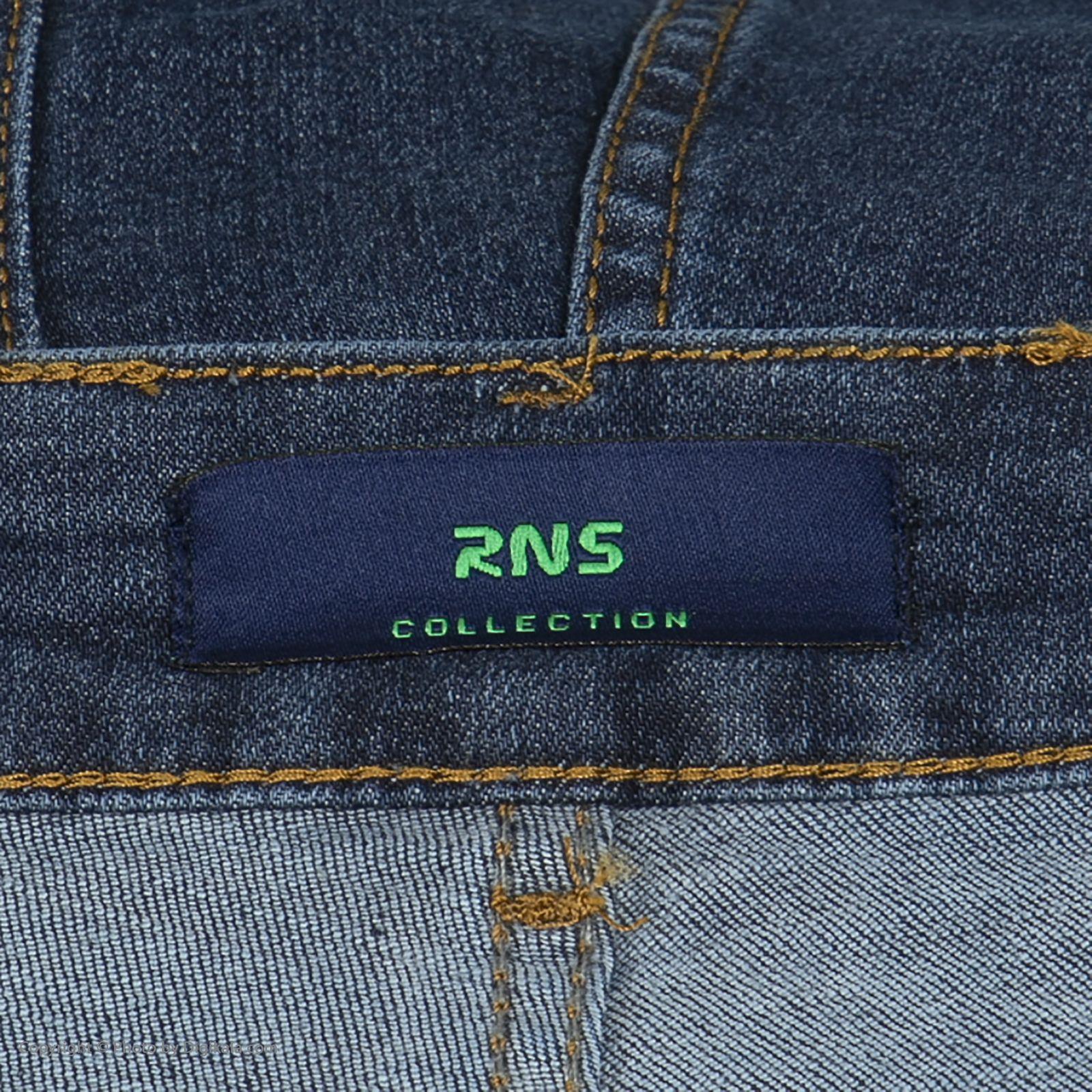 شلوار جین مردانه آر اِن اِس مدل 133051-59 -  - 6