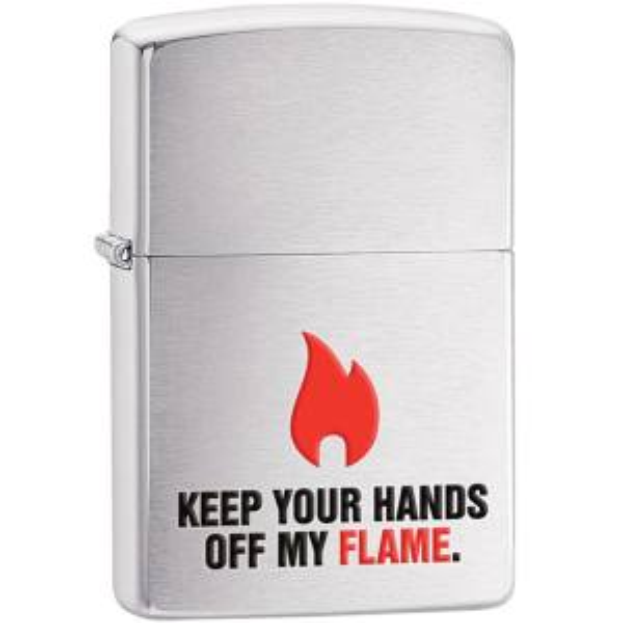 فندک زیپو مدل Keep Your Hands Off کد 28649