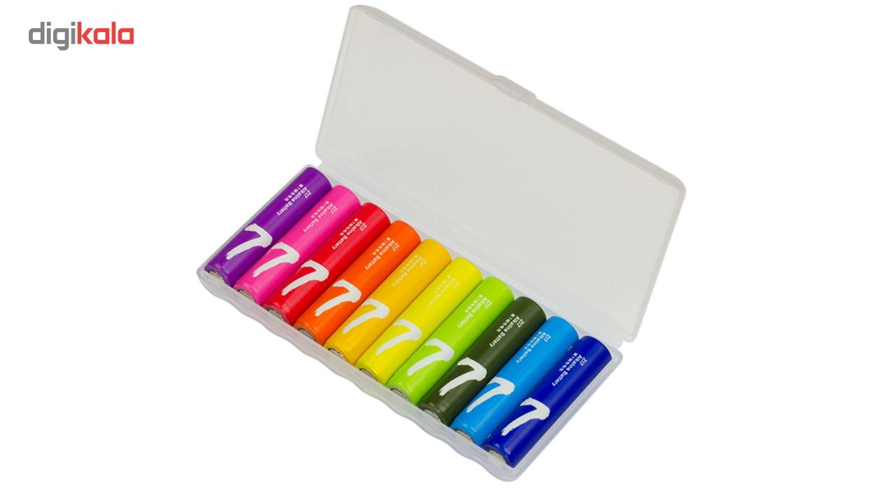باتری نیم قلمی مدل ZI7 بسته 10 عددی main 1 3