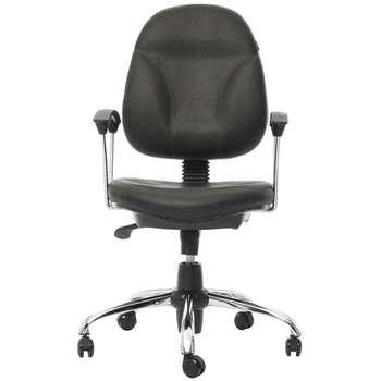 صندلی اداری چرمی راد سیستم مدل J304T
