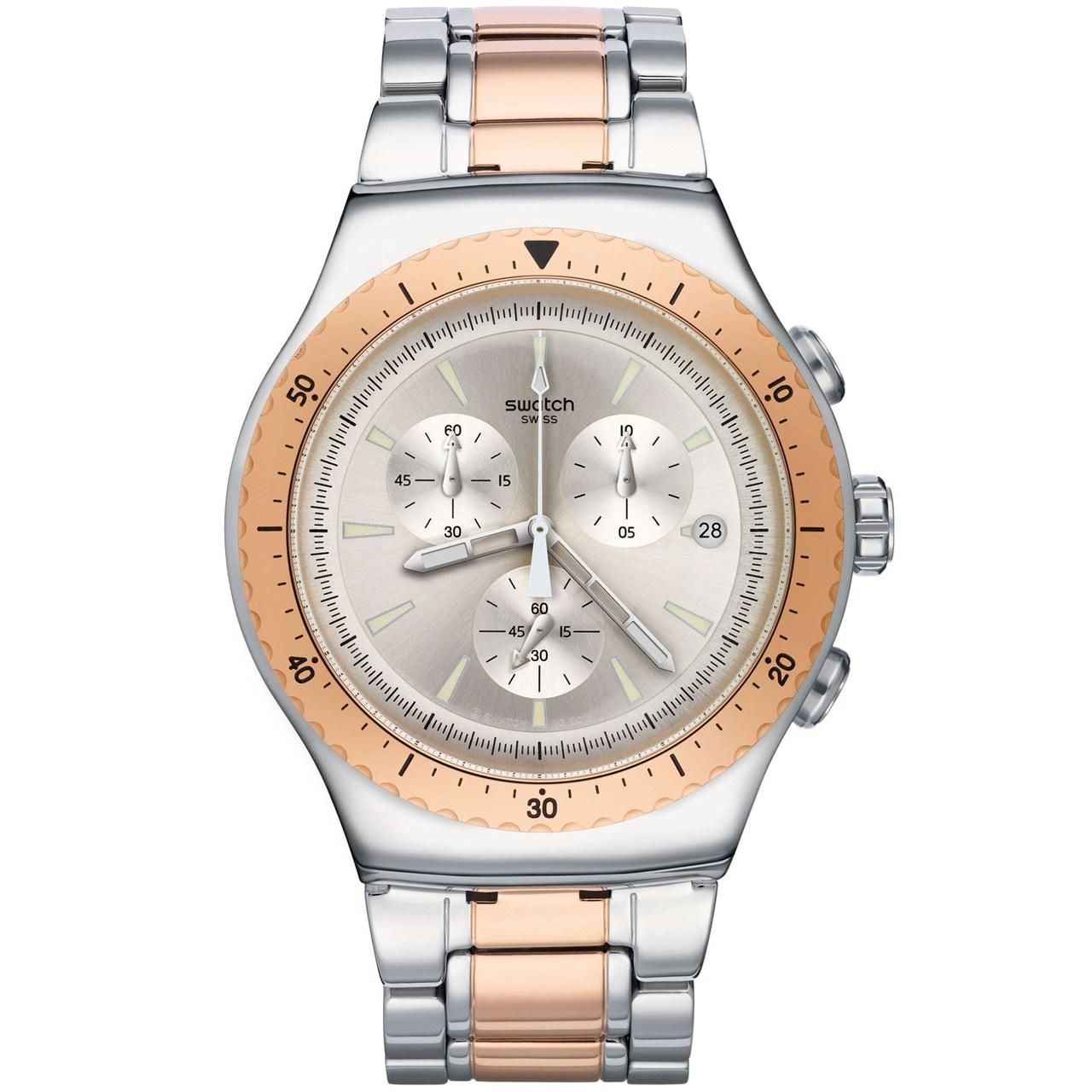 ساعت مچی عقربه ای مردانه سواچ مدل YOS452G 52