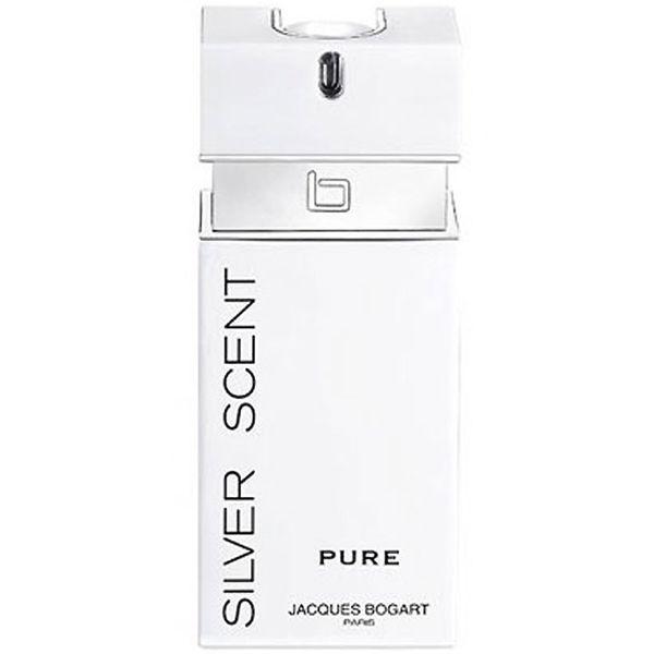ادو تویلت مردانه ژاک بوگارت مدل Silver Scent Pure حجم 100 میلی لیتر