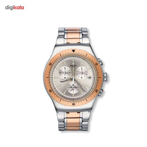خرید ساعت مچی عقربه ای مردانه سواچ مدل YOS452G