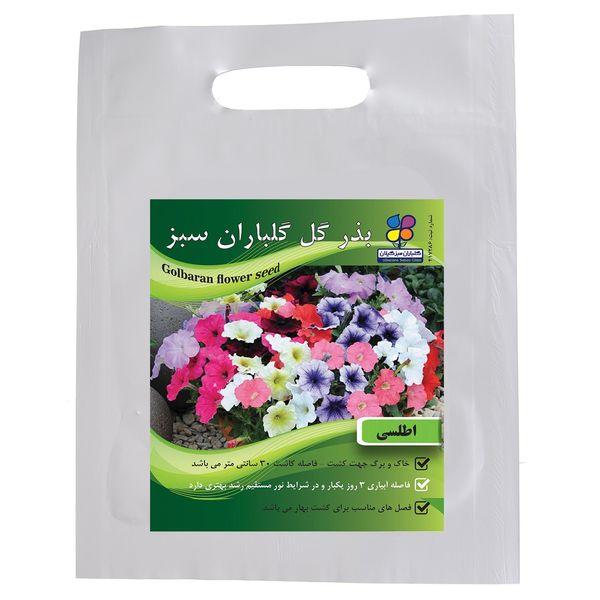 بذر گل اطلسی گلباران سبز