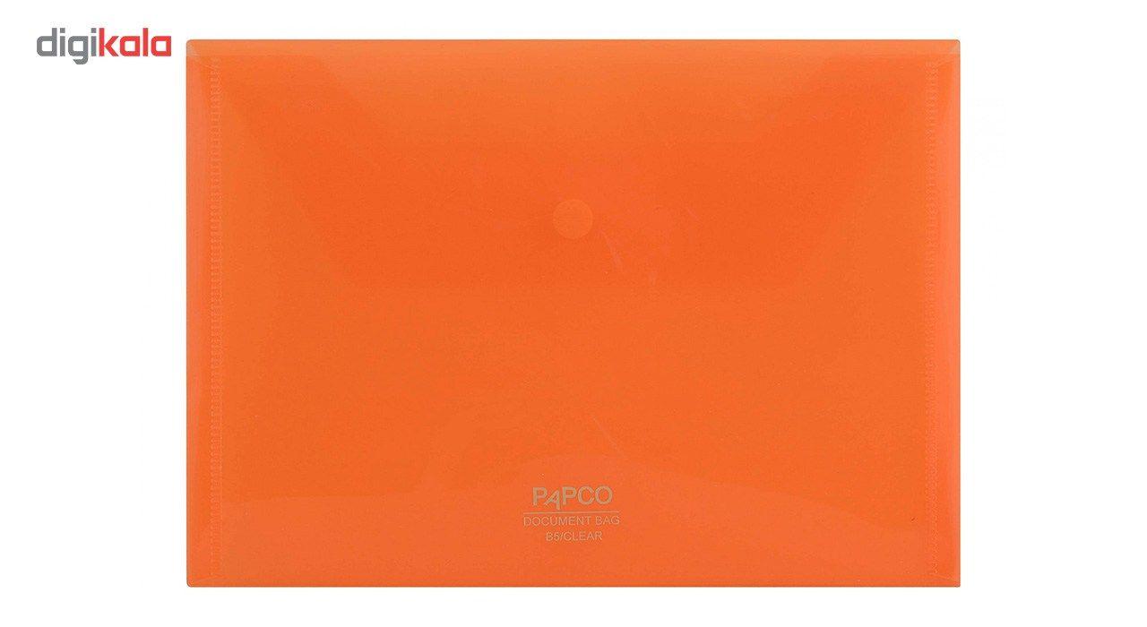 پوشه دکمه دار پاپکو کد B5-ClearM سایز A5 main 1 12