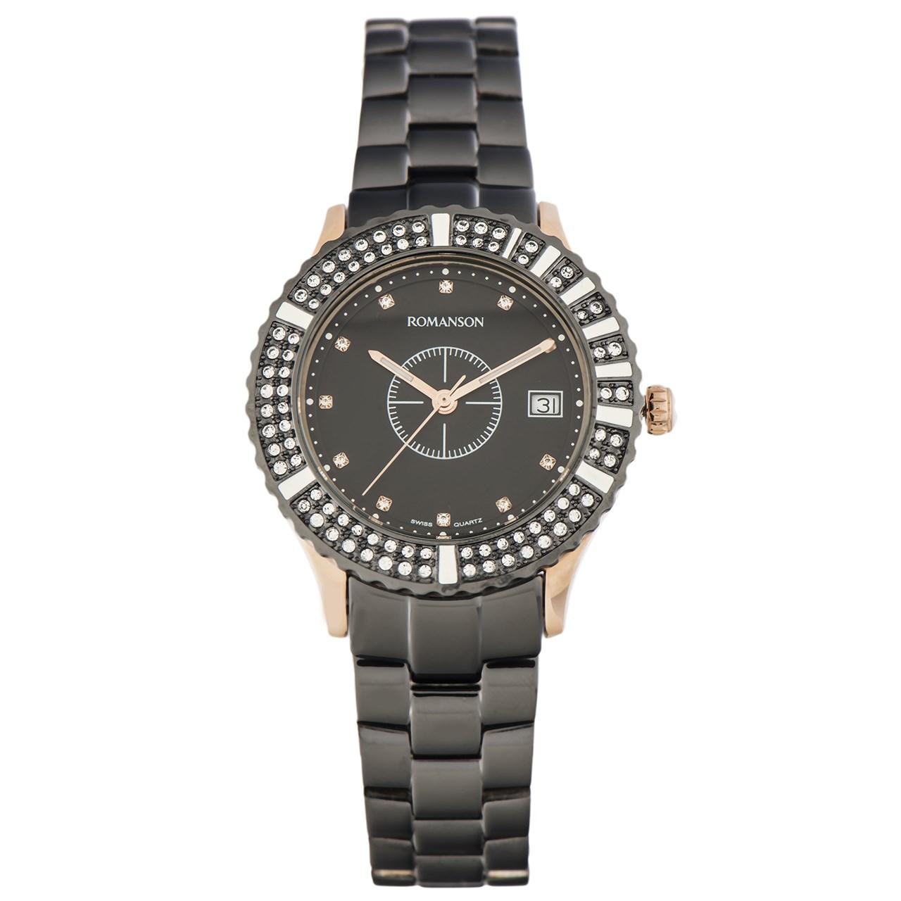 ساعت مچی عقربه ای زنانه رومانسون مدل RM9229TL1EA36R 50