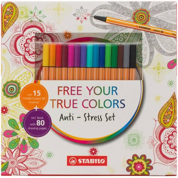 ست رنگ آمیزی استابیلو مدل Anti-Stress