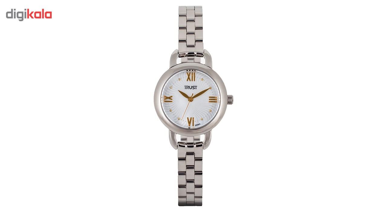 ساعت مچی عقربه ای زنانه تراست مدل L450HRK