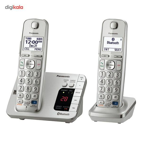 تلفن بیسیم پاناسونیک مدل KX-TGE262 main 1 1