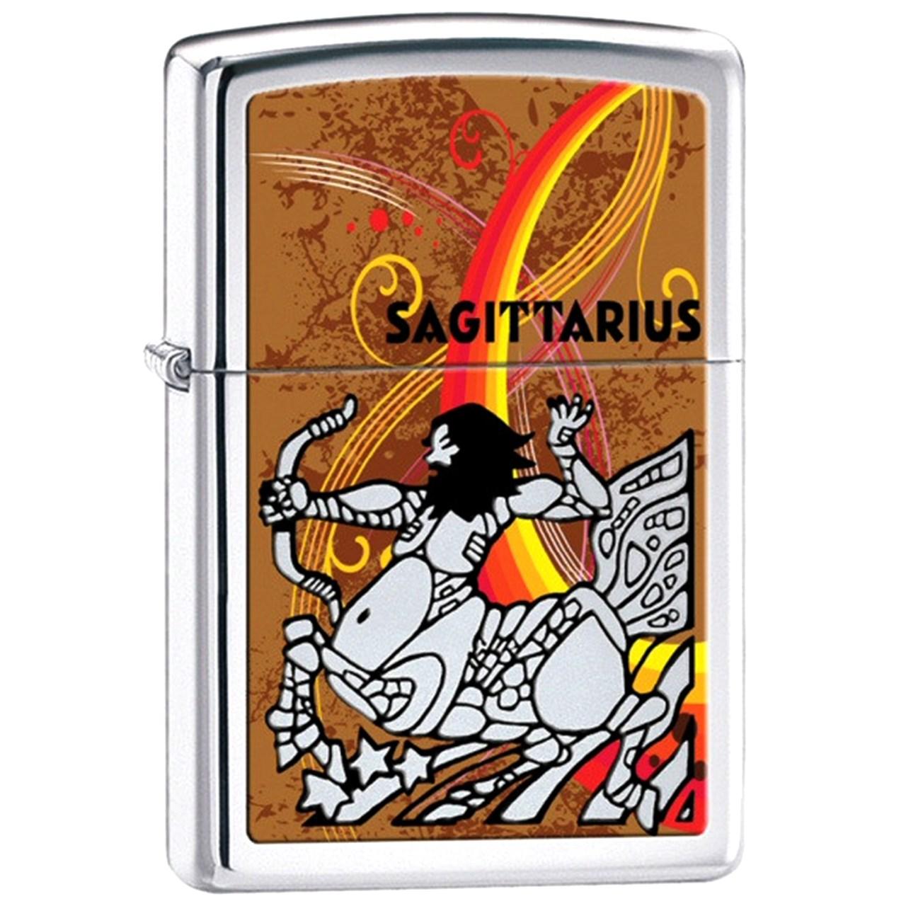 فندک زیپو مدل Zodiac Sagittarius کد 24939