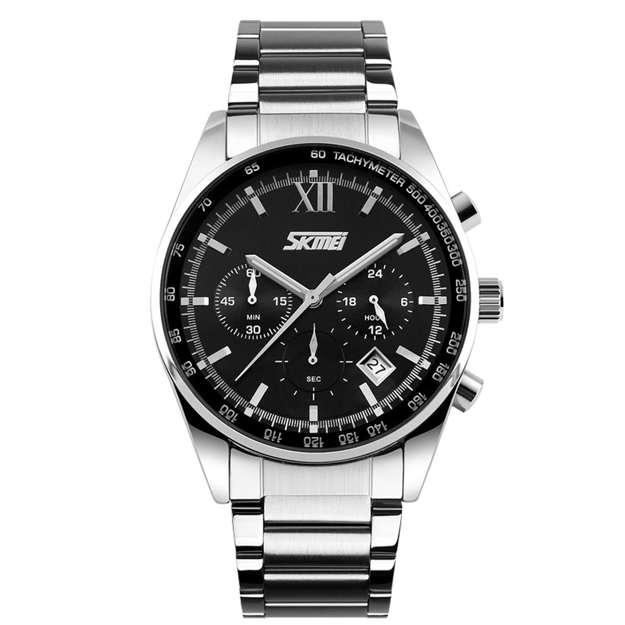 ساعت مچی عقربه ای مردانه اسکمی مدل 9096  کد 01