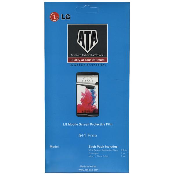 محافظ صفحه نمایش وویا مدل ATA مناسب برای گوشی موبایل ال جی K8 بسته 6 عددی