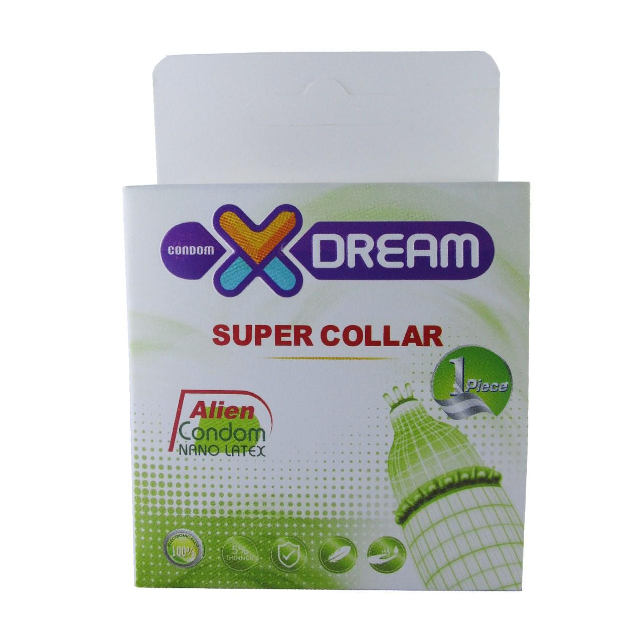 قیمت کاندوم ایکس دریم مدل Super Collar
