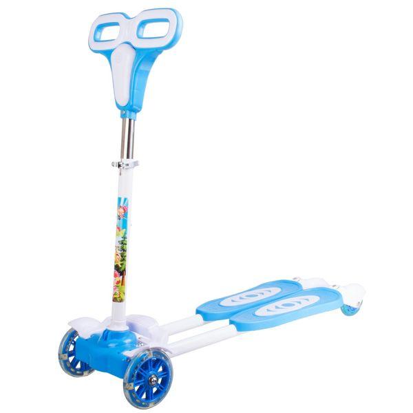 اسکوتر چهارچرخ مدل دبل زیگزاگی
