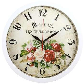 ساعت دیواری شیانچی طرح Roze کد 10010043