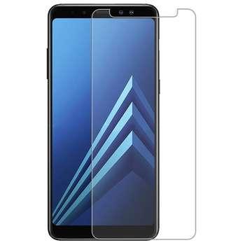 محافظ صفحه نمایش شیشه ای مدل Tempered مناسب برای گوشی موبایل سامسونگ A8 2018