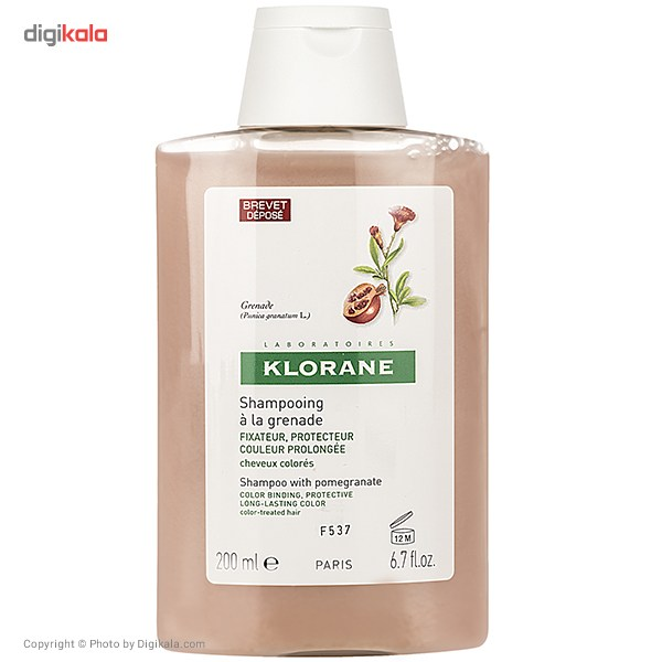 خرید                      شامپو تثبیت کننده کلوران سری Extrait Vegetal مدل Pomegranate حجم 200 میلی لیتر