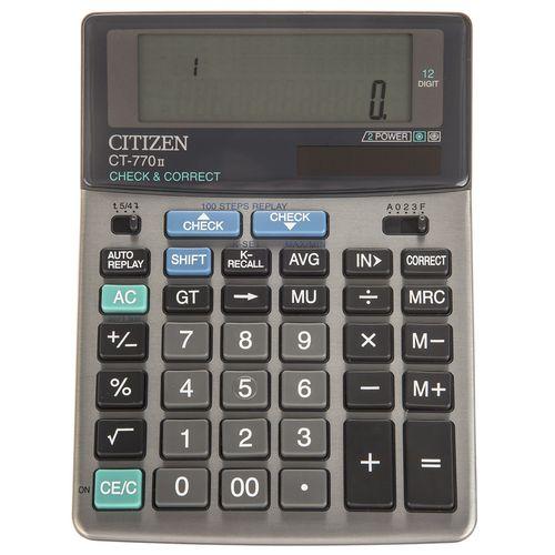 ماشین حساب سیتیزن مدل CT-770II