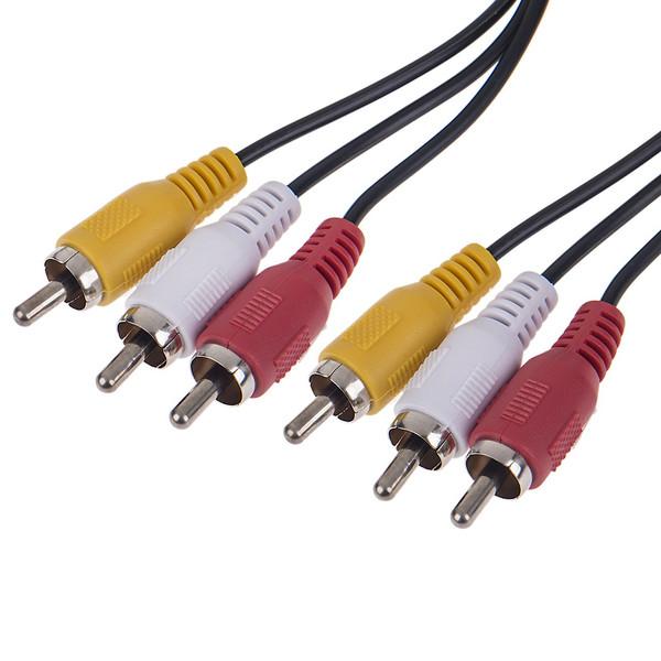 کابل تبدیل 3 جک RCA به 3 جک RCA کوردیا کد CCV-4120 به طول 2 متر