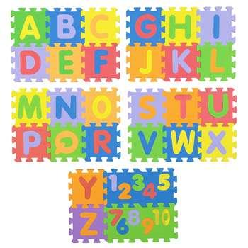 بازی آموزشی پالاس مدل حروف و اعداد انگلیسی سایز کوچک