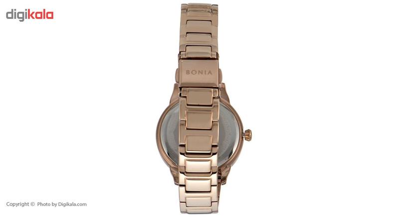 ساعت مچی عقربه ای زنانه بونیا مدل BNB10171-2555S