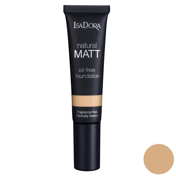 کرم پودر ایزادورا مدل Natural Matt oil free شماره 12