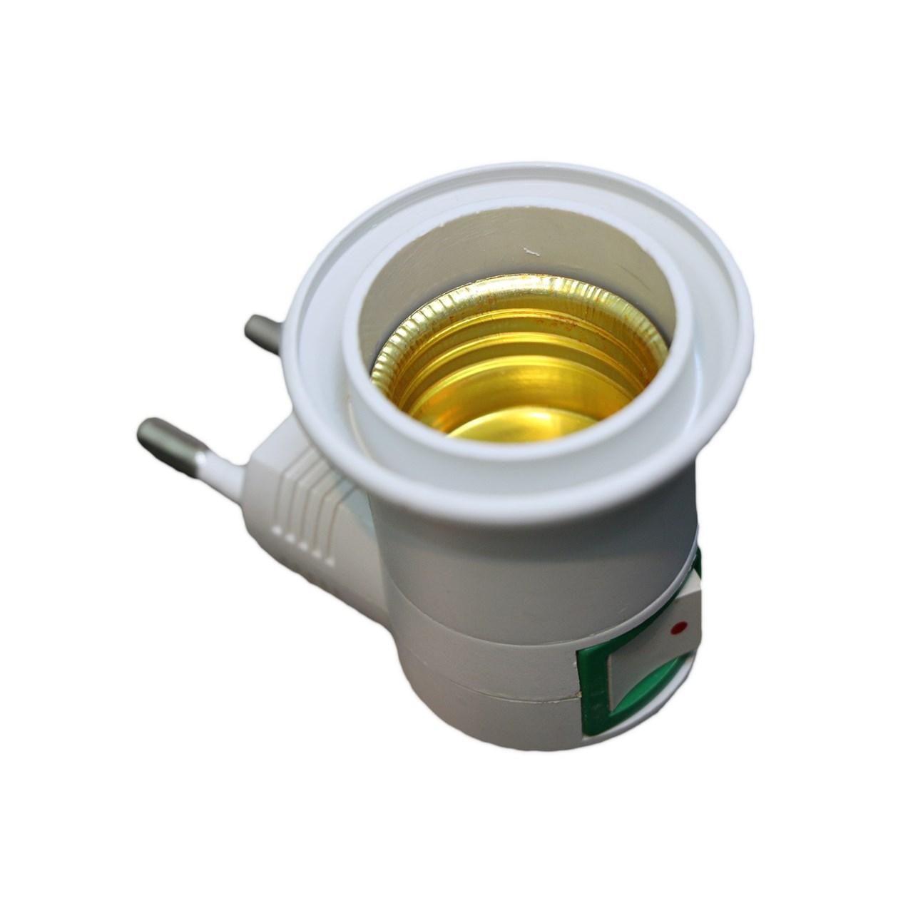 سر پیچ لامپ کلید دار کد E27