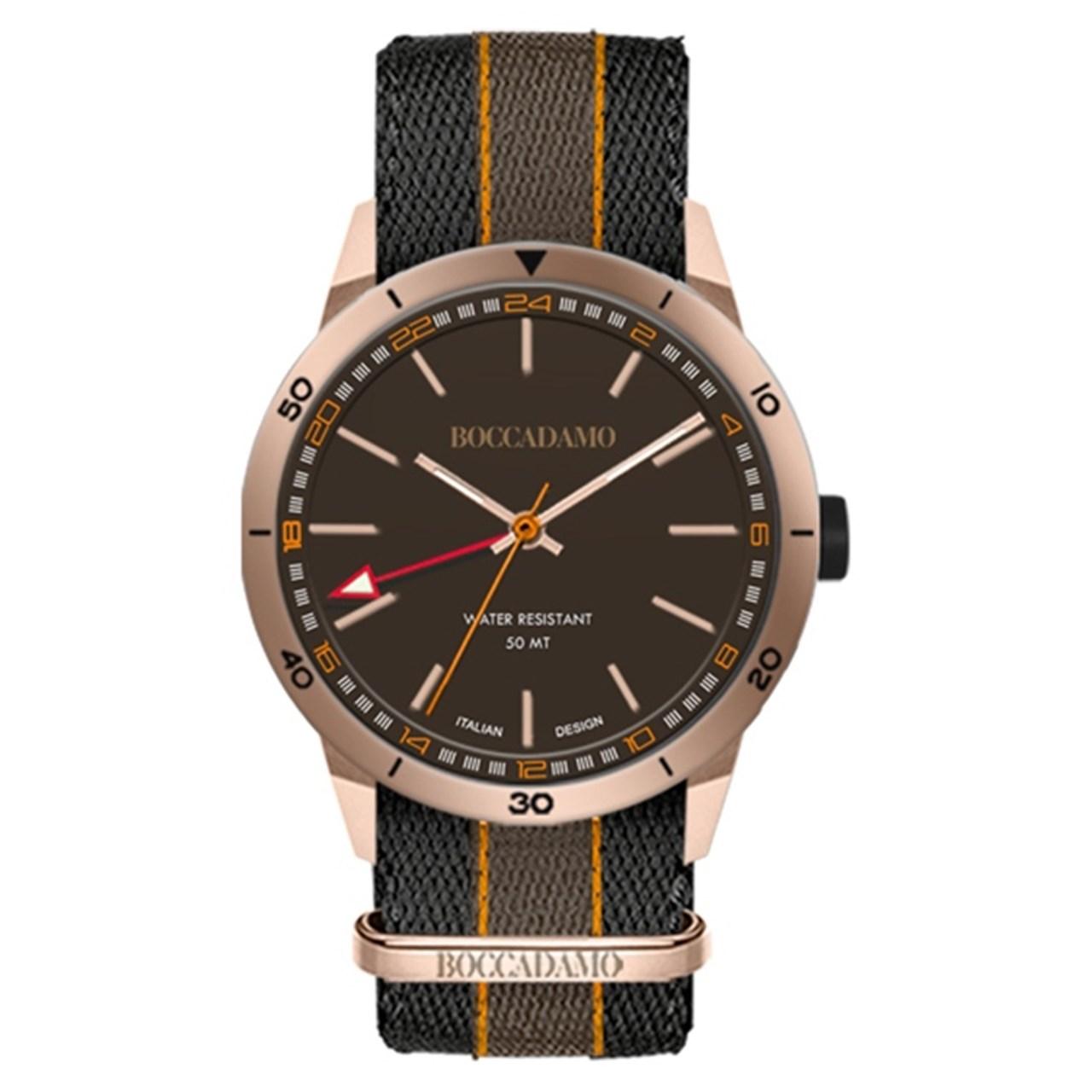 ساعت مچی عقربه ای مردانه بوکادامو مدل RGNV019