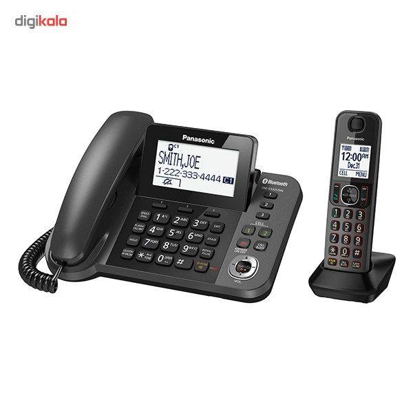 تلفن بیسیم پاناسونیک مدل KX-TGF380 main 1 2