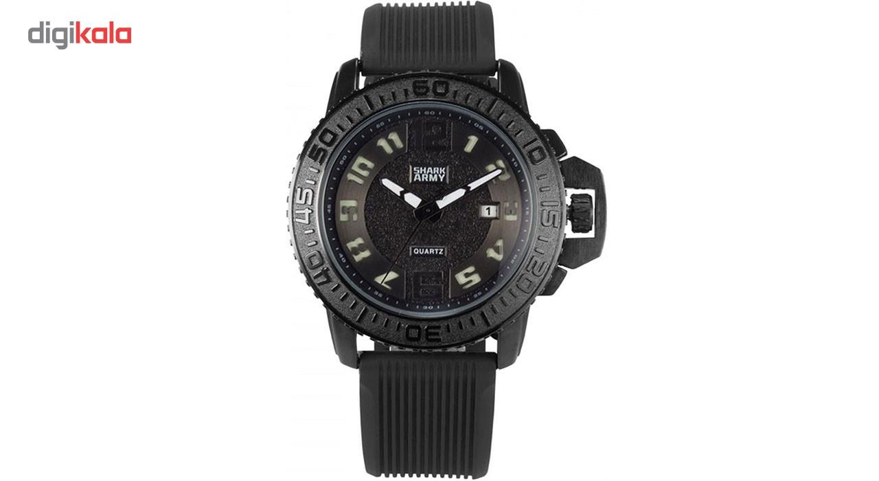 خرید ساعت مچی عقربه ای مردانه شارک آرمی مدل SAW180 | ساعت مچی