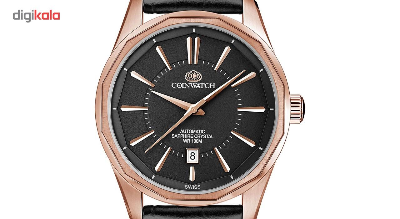 ساعت مچی عقربه ای مردانه کوین واچ مدل C122RBK