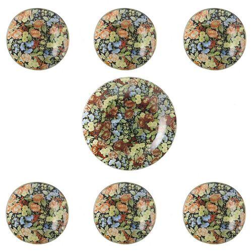 مجموعه ظروف هفت سین شیشه ای گالری سیلیس کد 180062