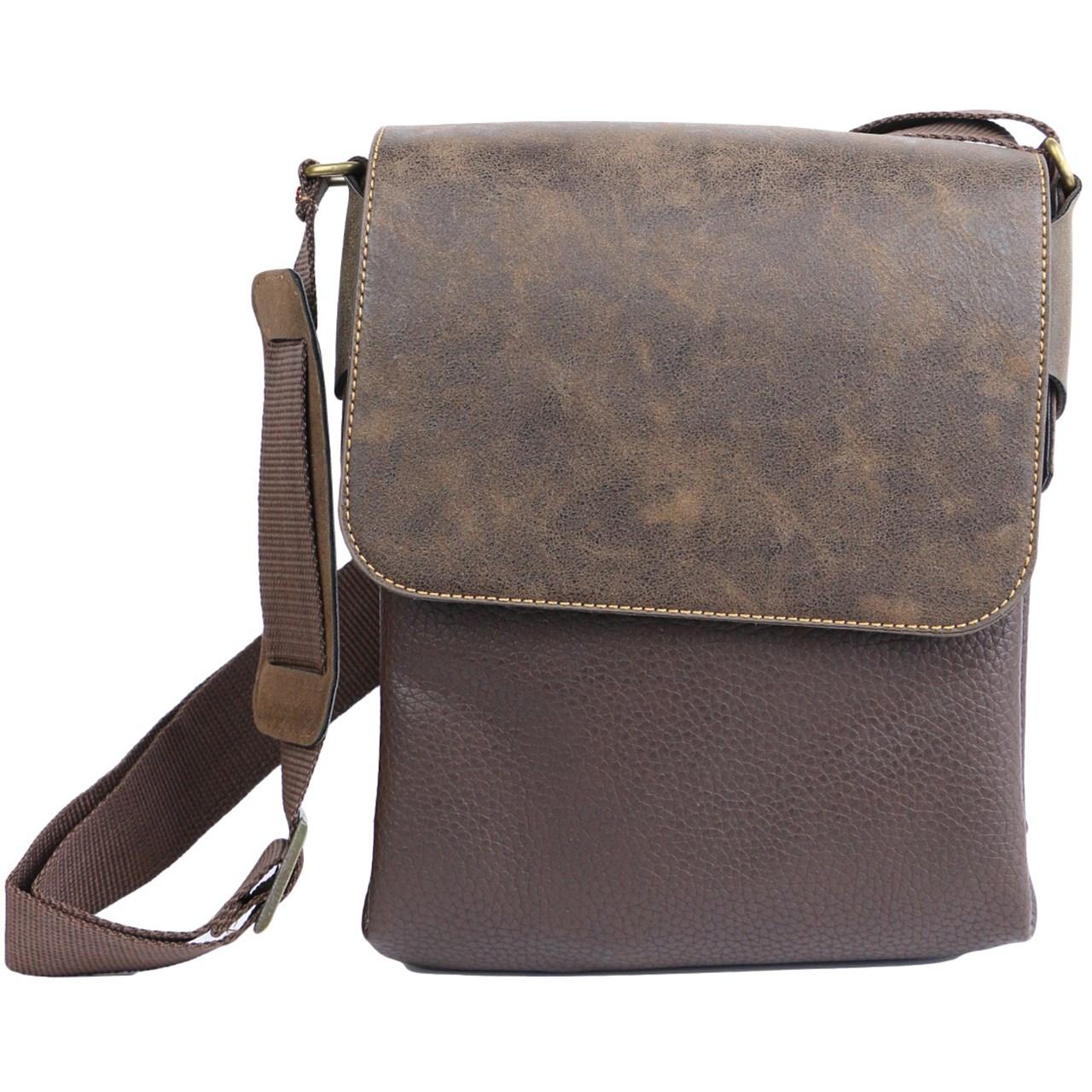 کیف دوشی چرمی مدل ss1