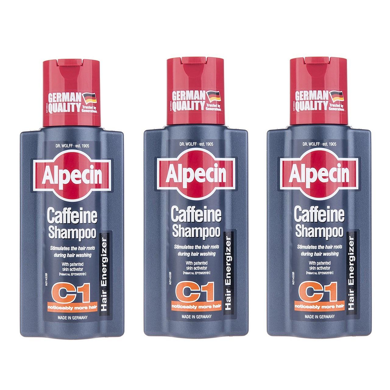 قیمت شامپو آلپسین مدل Caffeine C1 حجم 250 میلی لیتر بسته 3 عددی