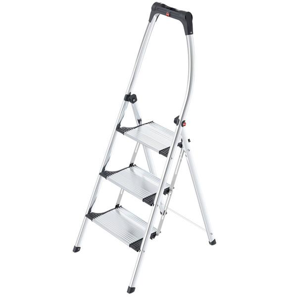 نردبان سه پله هایلو مدل Comfort Plus-4303301