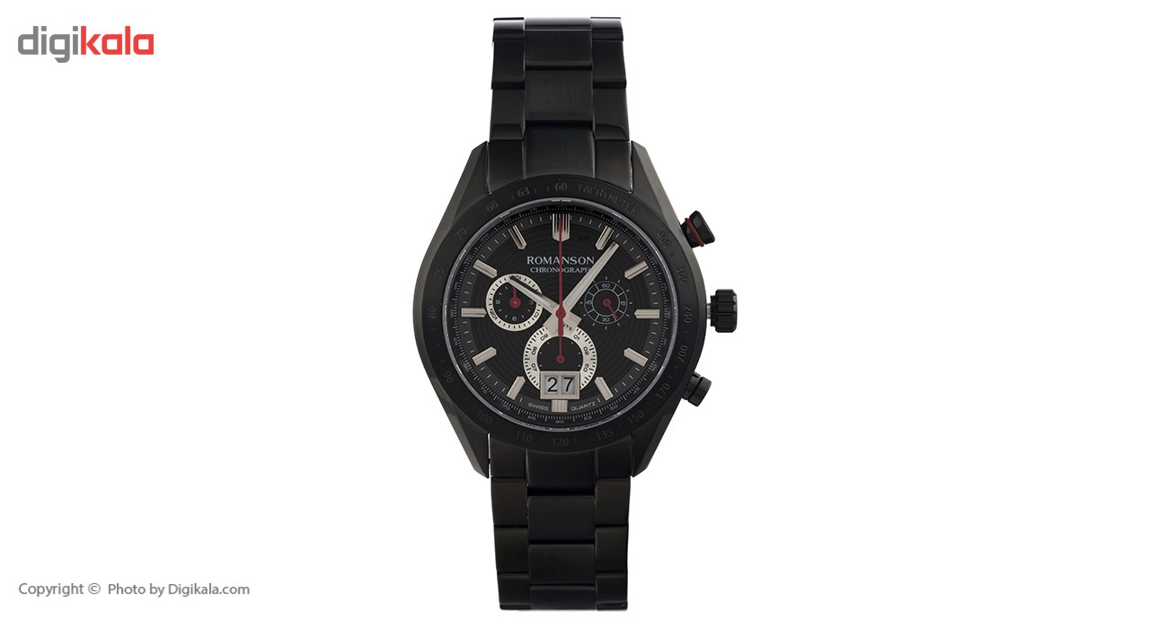 ساعت مچی عقربه ای مردانه رومانسون مدل AM6A06HMBBA3R5