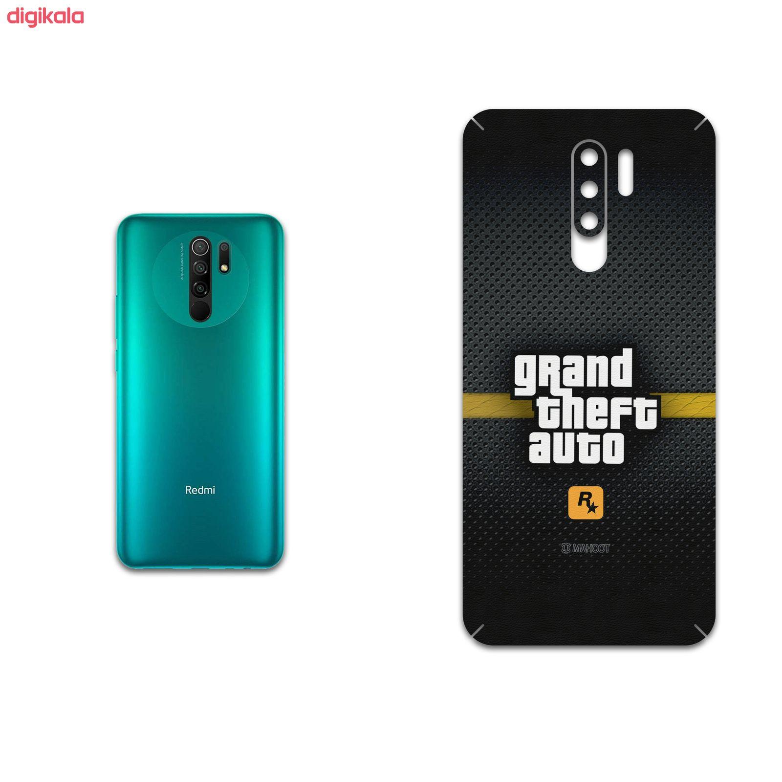برچسب پوششی ماهوت مدل GTA-Game مناسب برای گوشی موبایل شیائومی Redmi 9