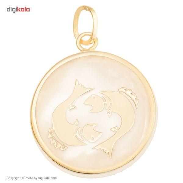 آویز گردنبند طلا 18 عیار ماهک مدل MM0324 - مایا ماهک -  - 2