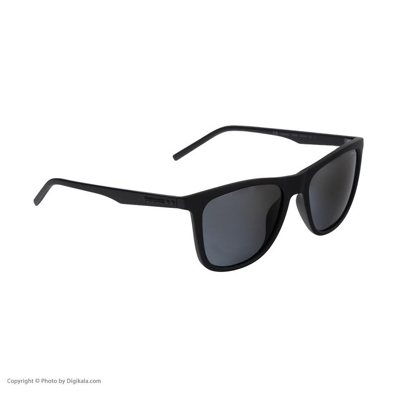 عینک آفتابی مردانه پولاروید مدل pld 2049-mattblack-55
