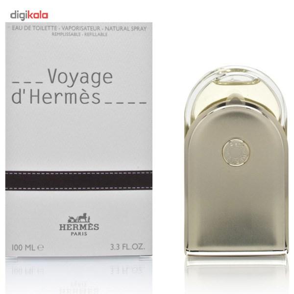 خرید اینترنتی ادو تویلت هرمس مدل Voyage d`Hermes حجم 100 میلی لیتر اورجینال
