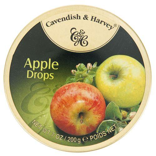 آبنبات سیب کاوندیش و هاروی مقدار 200 گرم