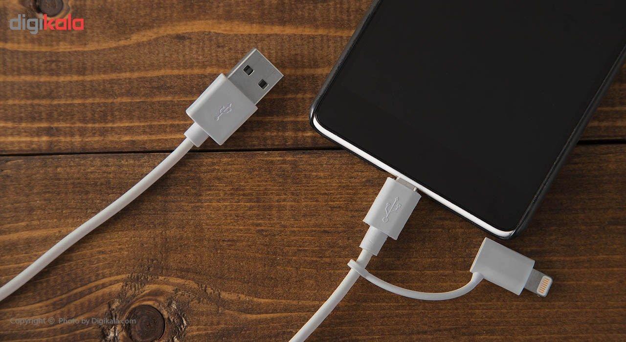 کابل تبدیل USB به لایتنینگ/microUSB هویت مدل HV-CB526 طول 1 متر main 1 6